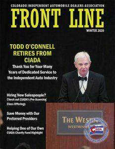 Front Line Magazine Winter 2020